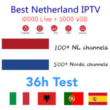 Holanda IPTV holandés IPTV Nederlands IPTV M 3U suscripción Holanda IPTV para Android TV Box Enigma2 250 Smart PC tv X96 mini(China)
