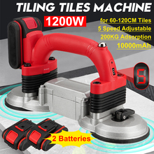 Tiles-Machine Tiling Suction-Cup Floor-Laying-Tool Vibrator 60-120cm-Tiles Adjustable