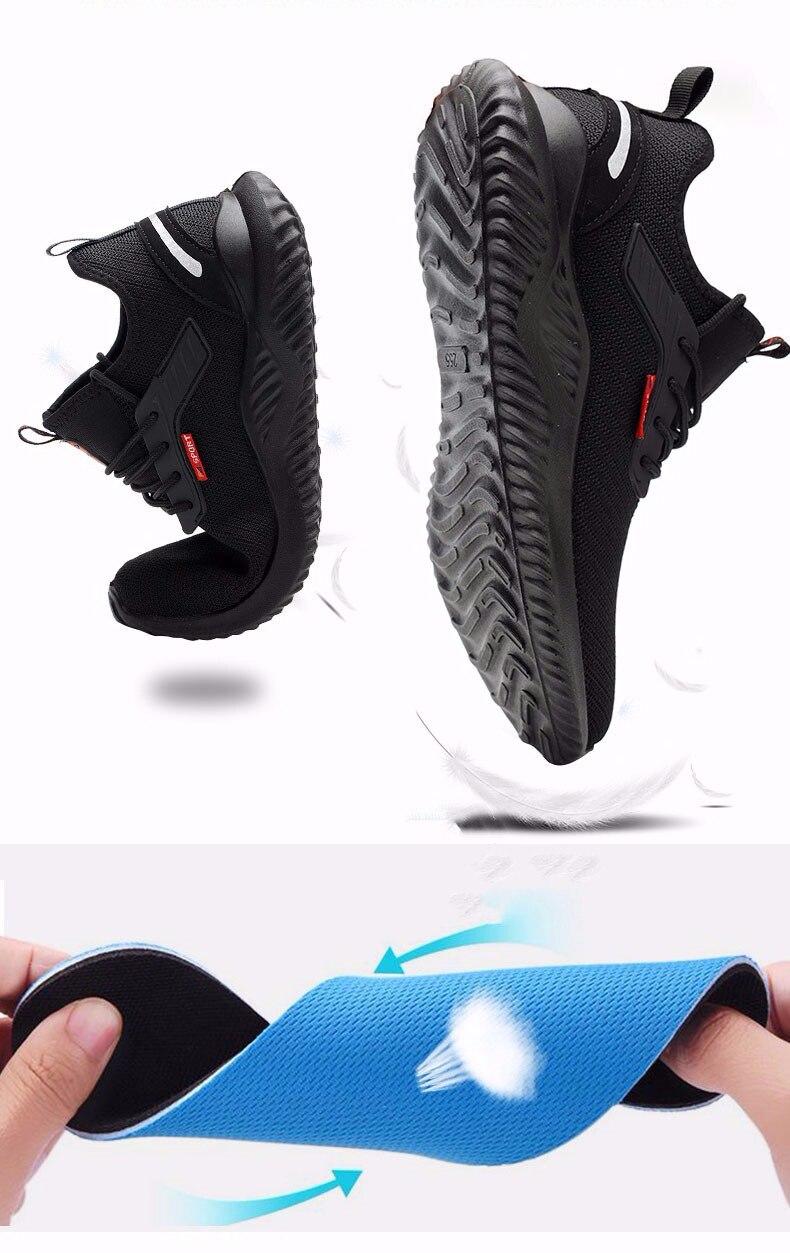 segurança sapatos de trabalho para o homem