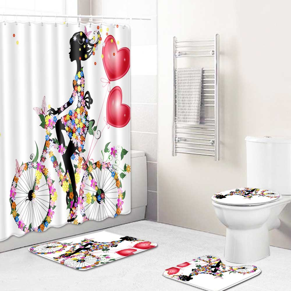 check MRP of printed shower curtains