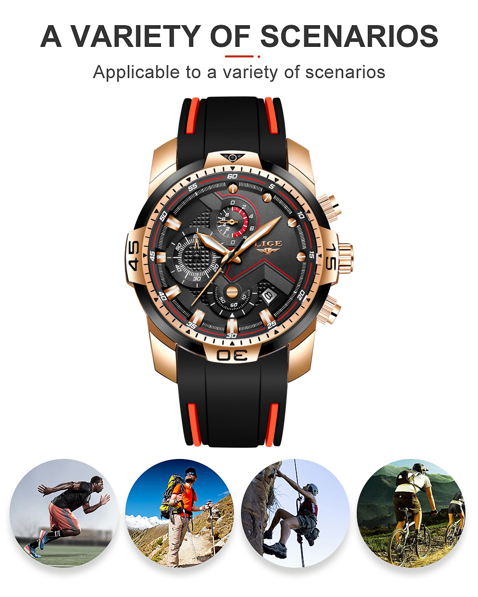H11856e769a9748ca8f8668e9c9a56c4aI 2020 LIGE Sport Watch Men Brand Luxury Chronograph Silicone Strap Quartz Mens Watches Waterproof Clock Relogio Masculino+Box