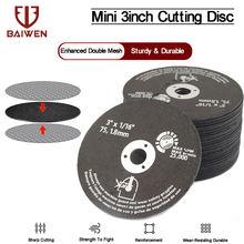 """5 50 шт 3 """"75 мм отрезное колесо резной диск волокна дисковой"""