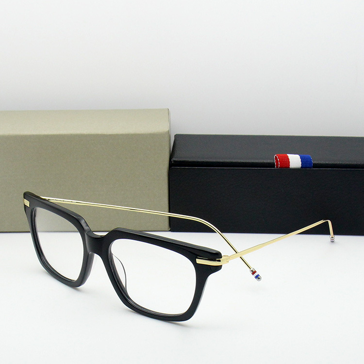 TB701 New York Eyeglasses Frames Men Women Top Quality Vintage Eyeglasses Optical Prescription Eyeglasses with Original Box image