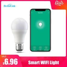 Nieuwe BroadLink BestCon LB1 الذكية Wifi LED مصباح باهتة مصباح Licht التحكم الصوتي التقى اليكسا en جوجل Thuis 2 حزمة من 4 حزمة