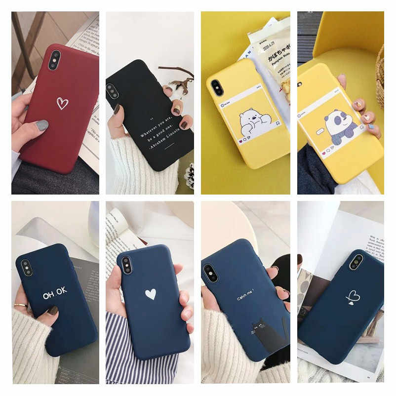Caso de natal para iphone 6s feminino menina acessórios macio capa de telefone de luxo para carcasa iphone 7 8 6s plus 5 x xr xs max