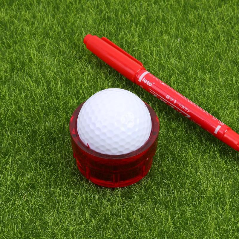 360-degree Golf Scriber Golf Ball Liner Alignment Line Marker Liner Template Drawing Tool Golf Swing Trainer Drop
