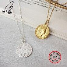 Pendant Necklace Jewelry 925-Sterling-Silver Dollar Plata-De-Ley Women S'STEEL for Bijoux