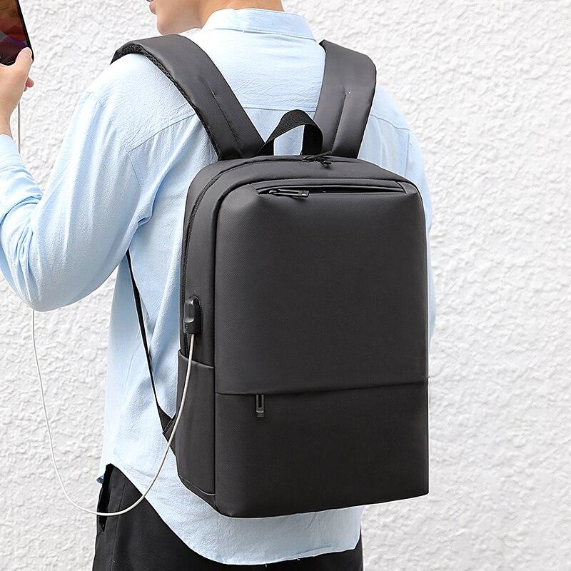 OUBDAR 2020 New Anti Theft Men Back pack Laptop Backpacks School Fashion Travel Male Mochilas USB Charging Schoolbag Unisex bag 6