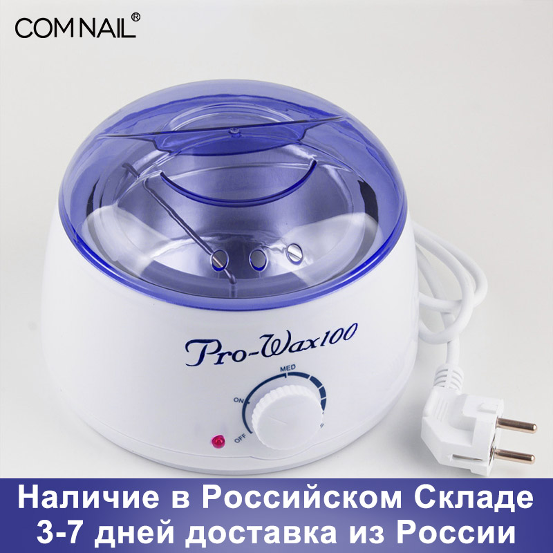 Hair Removal Tool Epilator Warmer Pro-Wax 100 Mini SPA Hand Epilator Feet Paraffin Wax Warm Pot Ship From Russian Warehouse