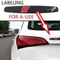 1 шт. автомобиль Стикеры наклейка на зеркало заднего вида Стикеры автомобильные стикеры декоративные для тела Стикеры для Audi a3 a4 a5 a6 s4 s5 s6 s7 c5 ...