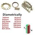 Магнит NdFeB диаметром 3x6 6x2 6x2,5 6x3 8x1 8x1,5 8x2 10x1 19x3 15x2 мм 3 мм 6 мм 8 мм намагниченный стержень диаметром Φ
