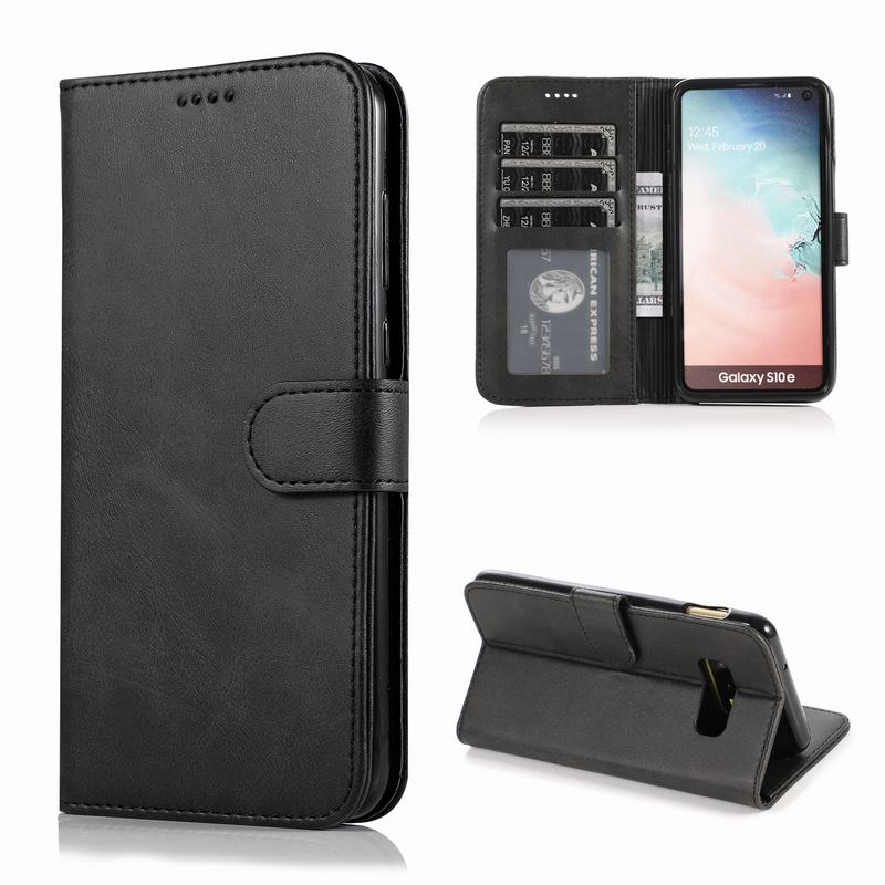 Cover Case For Samsung Galaxy S9 S10 Plus S10E Flip Magnetic Closure Luxury Wallet Leather Phone Bags For Samsung S 10 S9 Coque