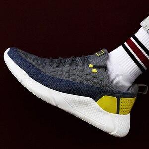 Image 3 - גברים סניקרס אוויר רשת לנשימה חיצוני איש אופנה Sneaker חדש גופר נעלי Zapatos Hombre גברים נעליים יומיומיות נעלי ריצה
