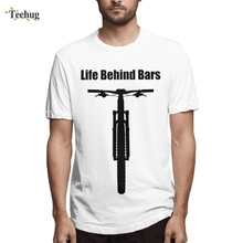 Hot Sale Life Behind Bars Mountain Bike Tee Men Casual Custom For Boy Round Neck Top Tees dare 2b футболка behind bars t