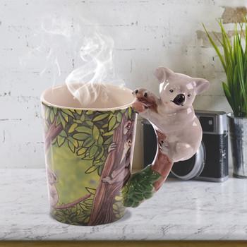3D kawa mleko sok zwierząt kubek ceramiczny napój kubek ceramiczny biuro kubek do herbaty kreatywny prezent urodzinowy kubek wody herbata do picia kubki tanie i dobre opinie CN (pochodzenie) Bone china Kubki do kawy Klasyczny Z brak Ce ue Ekologiczne