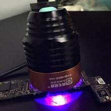 Блестки из алюминиевого сплава Портативный долговечный клейкий телефон ремонт многоцелевой инструмент обслуживание лампы материнская плата Ультрафиолетовый фотополимеризатор