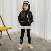 Girls Clothes Spring Fall Active Girls Children Outfits Set Long Sleeve Hoodie Coat Sport Suit for Big Girls Clothing Sets CL114