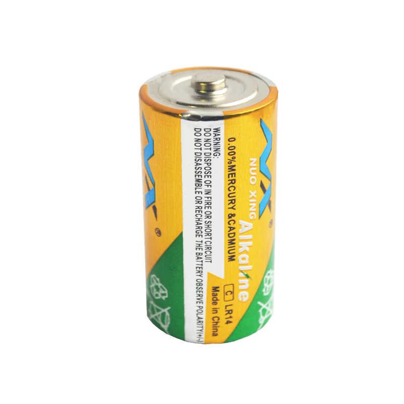6 шт NX C размер LR14 Батарея AM2 CMN1400 E93 супер щелочные батареи 1,5 v для детектор дыма светодиодный свет электронные игрушки