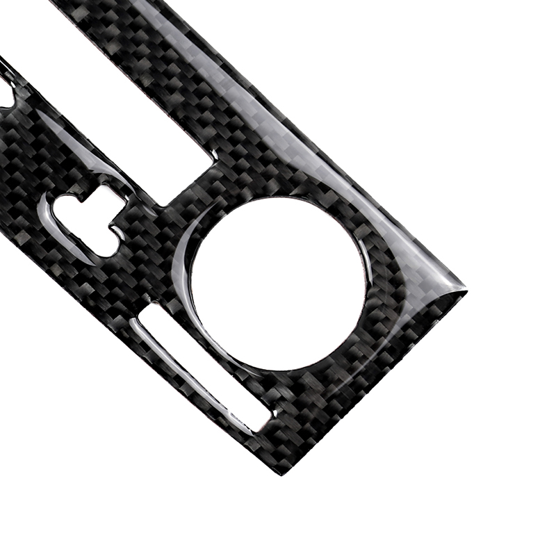 Carbon Fiber Center Console CD Panel Cover Trim For LEXUS IS250 IS350 2014-2018