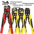 HS-D1 D4 D5 AWG24-10 (0.2-6.0mm2) conception multifonctionnelle pince à dénuder automatique câble fil dénudage outils de sertissage coupe