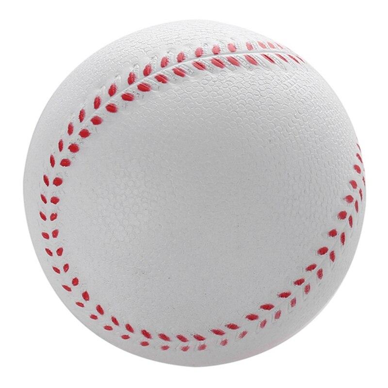 1Pcs Universal Handmade Baseballs Upper Hard & Soft Baseball Balls Softball Ball Training Exercise Baseball Balls 1