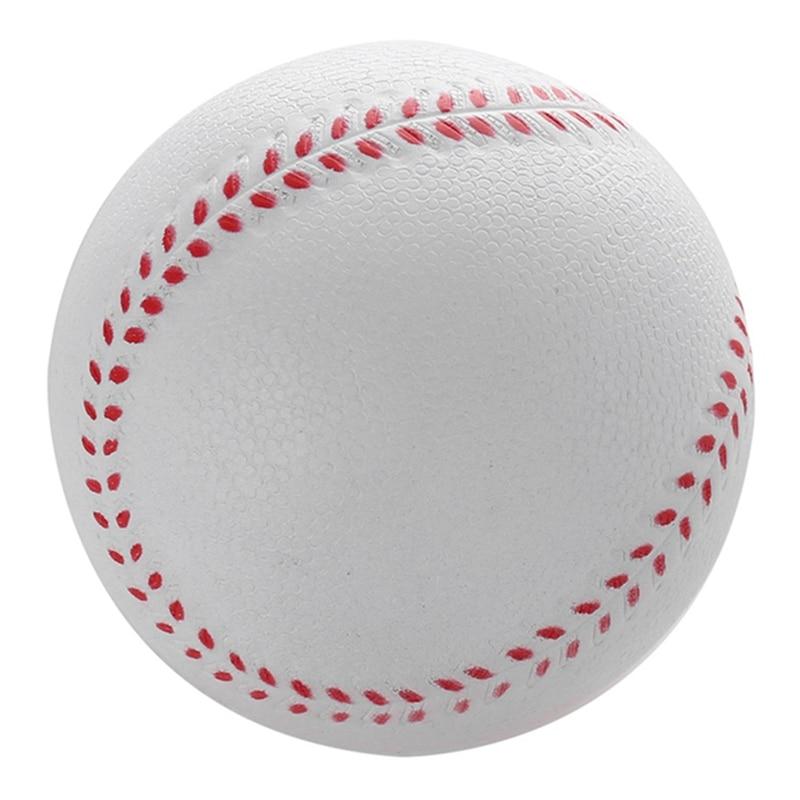 1Pcs Universal Handmade Baseballs Upper Hard & Soft Baseball Balls Softball Ball Training Exercise Baseball Balls