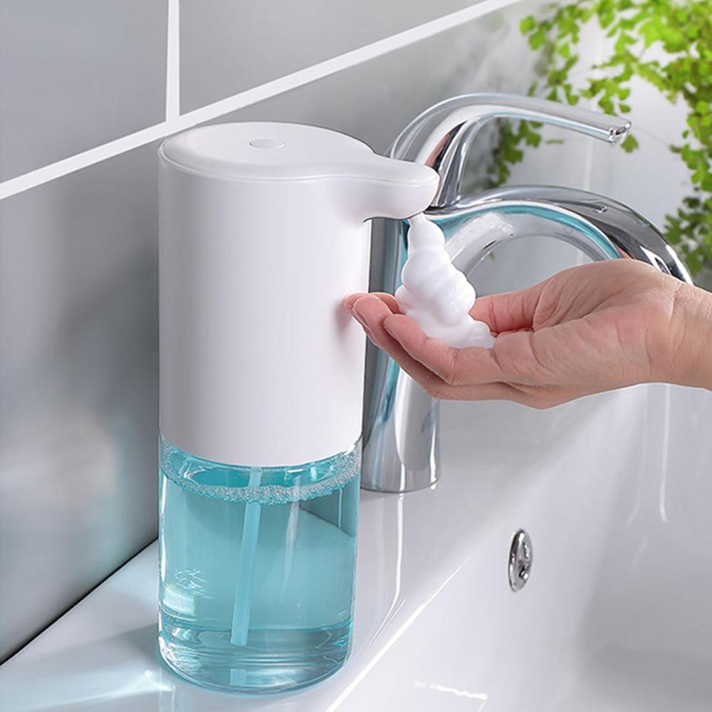 320ml Foam Hand Wash Machine Automatic Foaming Soap Dispenser Smart Sensor Touchless Hand Washer For Home Restaurant Anti-virus