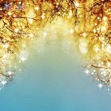 Yeele Christmas Photography Backdrop Light Bokeh Branch Newborn Baby Photo Background For Studio Photocall Photophone