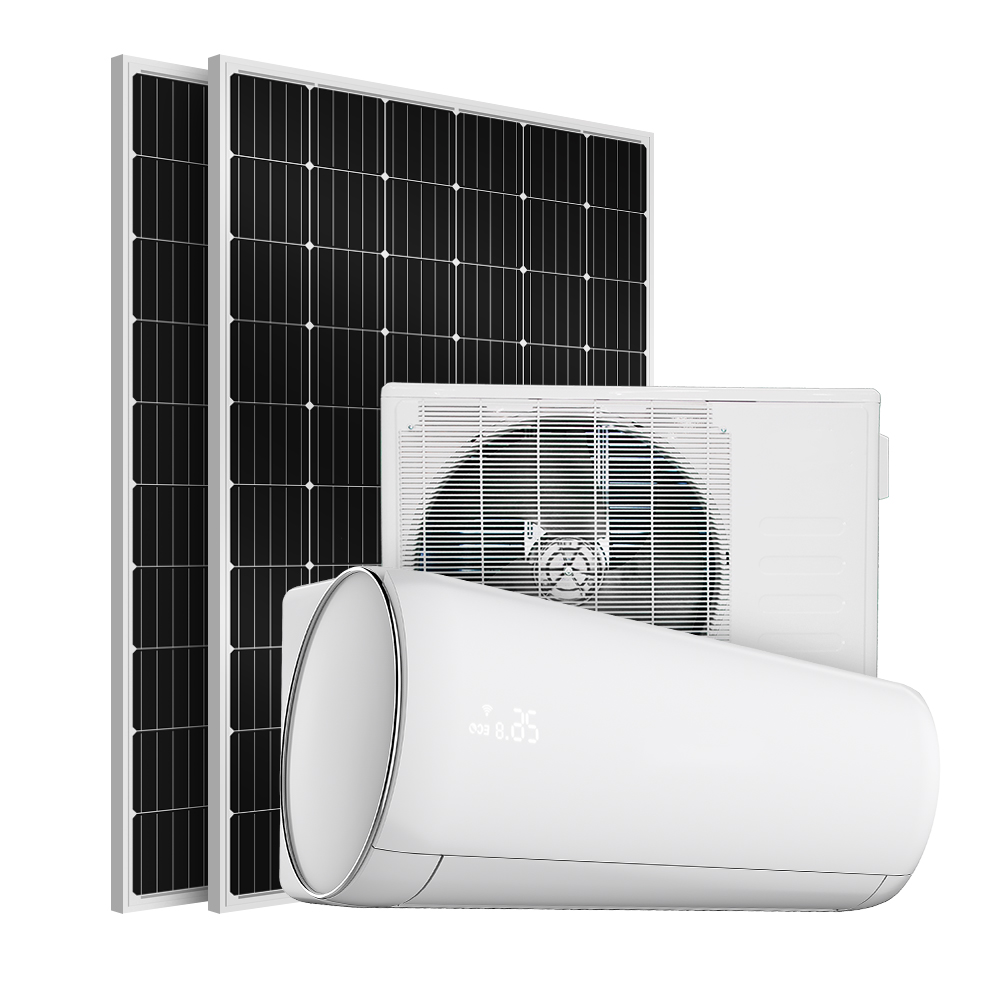 Home Solar Ac Air Conditioner Solar Energy System Powered Without Batteries 9000Btu 12000Btu 18000Btu 24000Btu