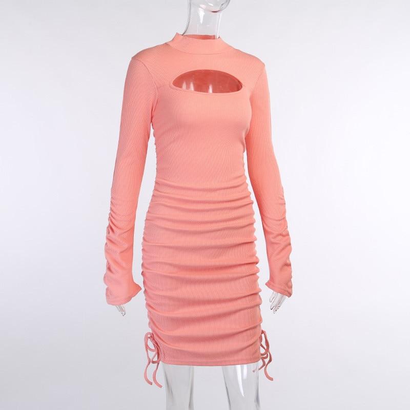 knitting turtleneck dress19