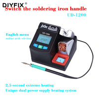 Jabe UD 1200 Smart Lead free Soldering Station 2.5S Rapid Heating with Dual Channel Power Supply Heating System Welding Station