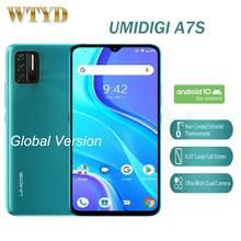 Смартфон UMIDIGI A7S, 6,53 дюйма, 2 + 32 ГБ, 4150 мАч