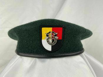 Armia usa 3 Siły specjalne grupa zielony beret siły specjalne SF czapka wojskowa tanie i dobre opinie