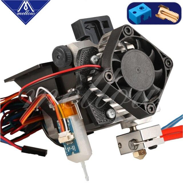 Mellow จัดส่งฟรี 3D ชิ้นส่วนเครื่องพิมพ์ Titan Aero V6 Extruder เต็มรูปแบบ + 3D TOUCH Kit สำหรับเดสก์ท็อป FDM repRap MK8 I3