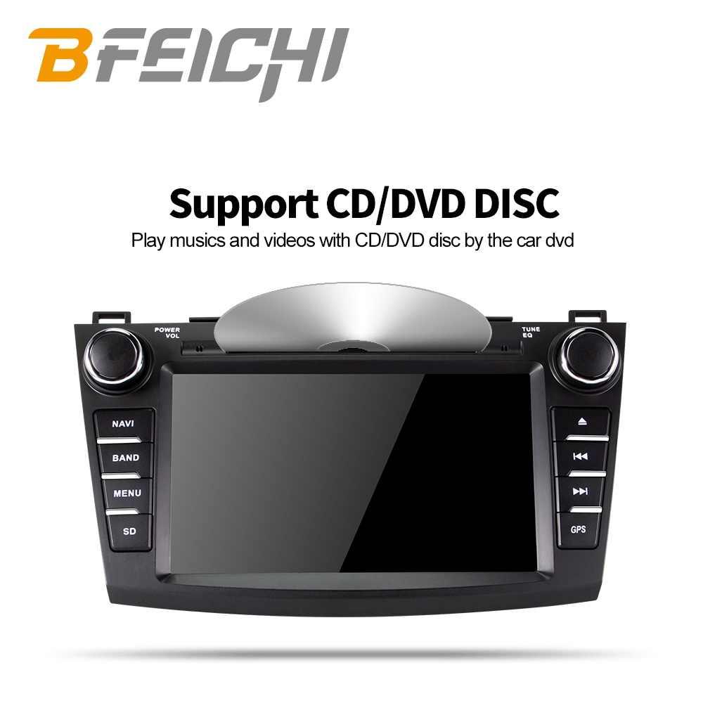 Bfeichi アンドロイド 9.0 車の dvd マツダ 3 2012 2012 2013 カーラジオマルチメディアプレーヤー