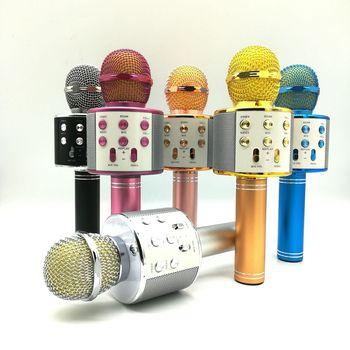 Mobile microphone wireless bluetooth KTV live recording studio handheld microphone studio wireless mic voice amplifier wireless