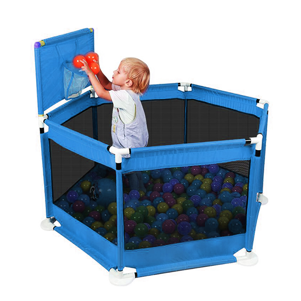 Baby Ball Pool Folding Baby Fence Children's Playpen Outdoor Games Fence Playpen For Baby Comfortable Kids Safety Barrier Pit