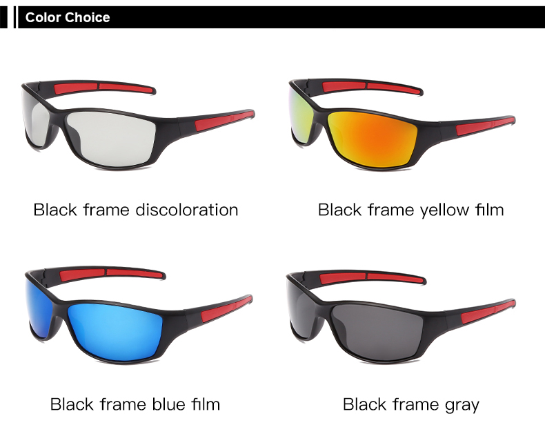 AIELBRO Photochromic Cycling Sunglasses Polarized Cycling Goggle Man Cycling Glasses Bike Bicycle Glasses Women's Bicycles 2020