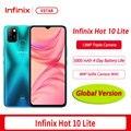 Глобальная версия оригинальный Infinix Горячая 10 Lite смартфон 6,6 дюймов 2 Гб оперативной памяти, 32 Гб встроенной памяти, процессор Helio A20 функцией ...