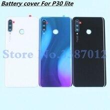 48MP oryginalna szklana tylna obudowa do Huawei P30 lite wymiana tylnych drzwi twarda obudowa baterii Nova 4e + samoprzylepna naklejka