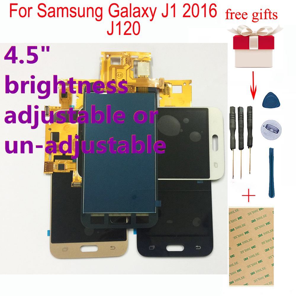 Für <font><b>Samsung</b></font> <font><b>Galaxy</b></font> J1 2016 <font><b>LCD</b></font> Bildschirm <font><b>J120</b></font> SM-J120F <font><b>LCD</b></font> J120M J120H/DS <font><b>LCD</b></font> Display Panel Touch screen Digitizer Montage image