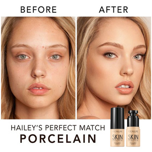 Image 3 - FOCALLURE Base Face Liquid Foundation Cream Full Coverage Concealer Oil control Easy to Wear Soft Face Makeup Foundation