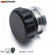 Алюминиевый сварной наконечник EPMAN OD 1 дюйм, 1,5 дюйма, 2 дюйма, на горловине и крышке, резервуар для масла, топлива, перенапряжения, резервуар д...