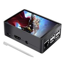 3.5 Inch Raspberry Pi 4 Touch Screen 480*320 TFT LCD Display ABS Case For Raspberry Pi 4B 3B 3B+