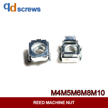 M4M5M6M8M10 castle nuts Galvanized card nut floating reed machine