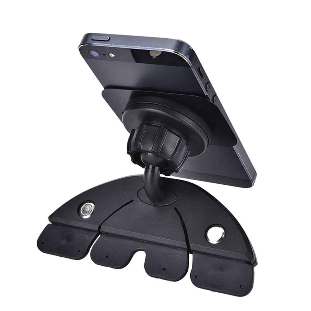 مغناطيس قبضة ماجيك CD فتحة سيارة مهد أقل جبل حامل العالمي آيفون العالمي 360 الدورية حامل هاتف السيارة