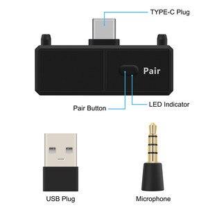 Image 4 - Bluetooth 5,0 Audio Transmitte Dongle EDR A2DP SBC Niedrigen Latenz USB C Typ C Wireless Adapter & Mic für nintendo Schalter PS4 TV PC