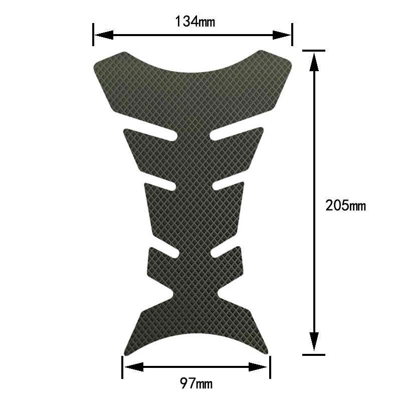 Gas Tank Pad Traction Side Grips Protector 3M Adhesive For Kawasaki ZX10R ZX 10R 2008 2009 2010 in Decals Stickers from Automobiles Motorcycles