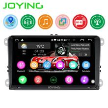 JOYING 2 din Android 8.1 car radio head unit GPS 9 inch IPS screen autoradio for VW/ passat b6/Volkswagen/Seat support fast boot