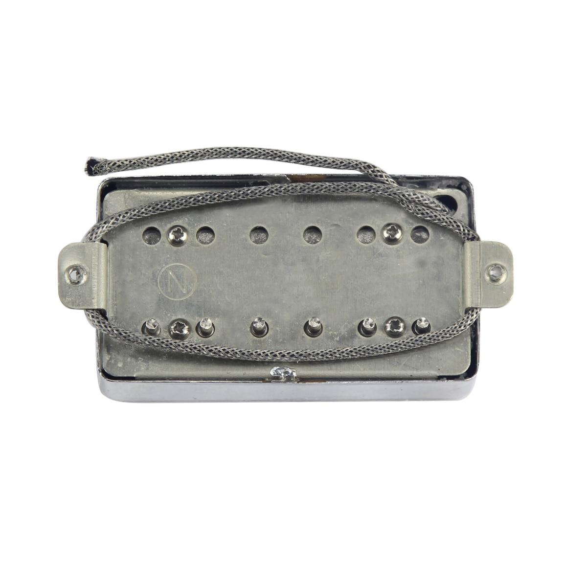 Image 4 - NEW Alnico 5 / V Humbucker Electric Guitar Pickup Chrome Neck or Bridge Pickup Choose For LP Style GuitarGuitar Parts & Accessories   -